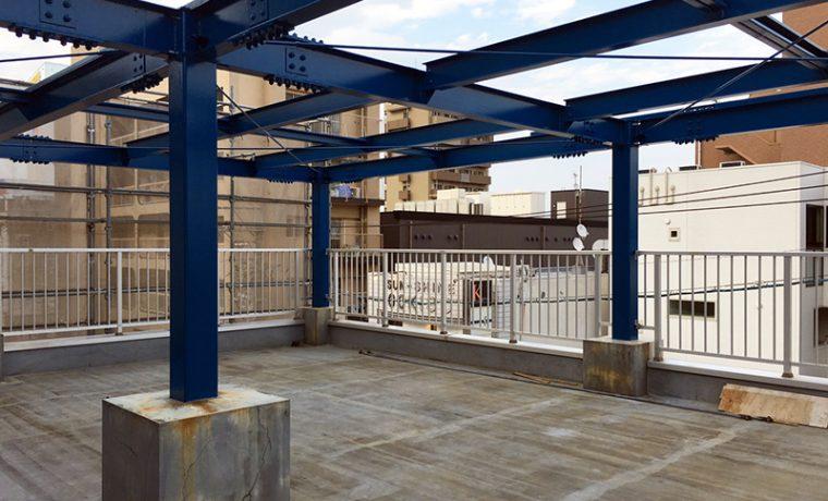 4階バルコニー|アウトドアスペース
