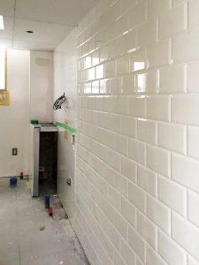 トイレ壁面