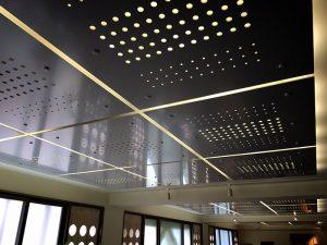 オフィスエリアの照明