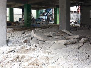 1階部分解体工事
