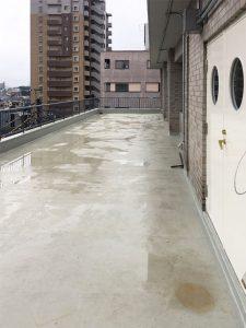 防水工事下塗り