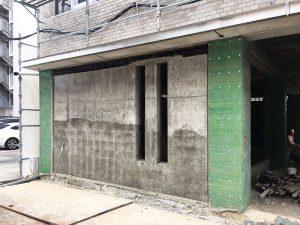 1階鉄筋コンクリート耐震壁