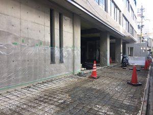 1階コンクリートの打設