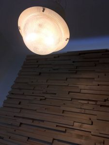 階段部分の目隠しパネル