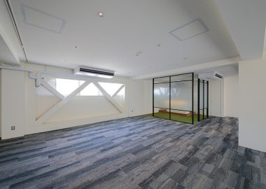 オフィススペースのカーペット